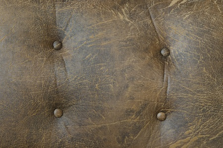 luxury classic leather texture, background of vintage sofa photo