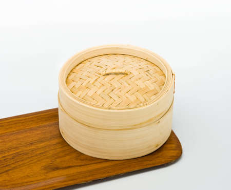 Chinese Bamboo Steamed for dimsum photo
