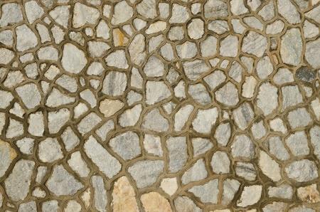 Antecedentes de la decoración de piedra de granito superficie de la pared Foto de archivo