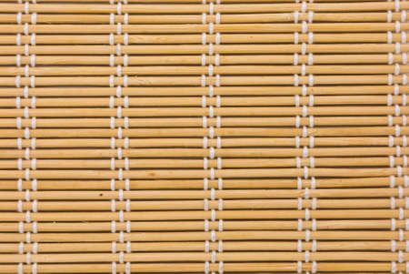 close up of bamboo curtain pattern material Stock Photo - 12684778