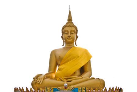 praye: View of buddha statue in Thailand