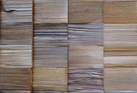 cedar shakes: texture of cedar wood in natural