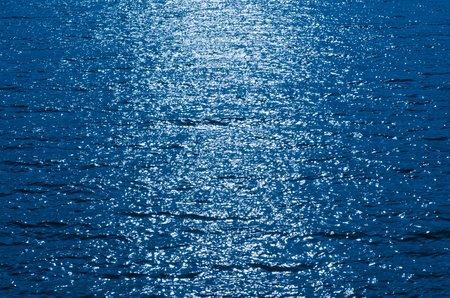 The water waves effects of lake   Sun light photo