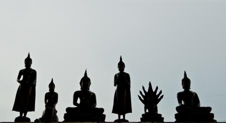 View of buddha statue in Thailand Stock Photo - 14211237