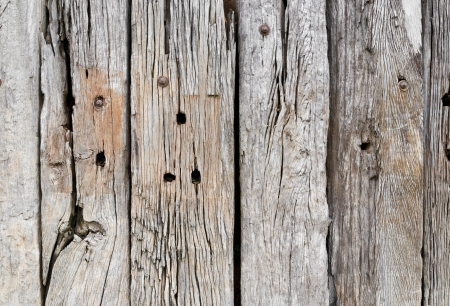 background texture of old wooden fence surface photo