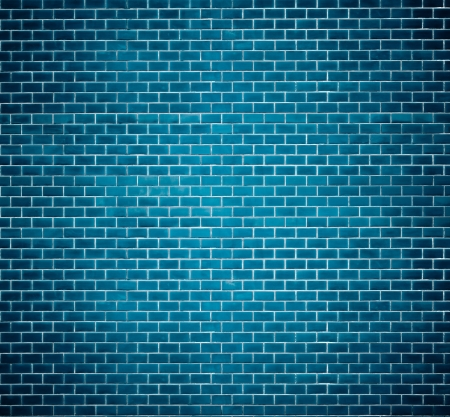 Decorative red brick wall texture in horizontal view photo
