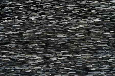 cross section pattern of decorative slate stone wall surface