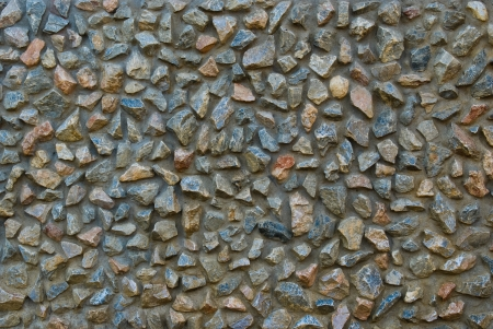 stone texture of  wall decoration photo