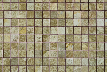 pattern of Mosaic on a decorate wall photo