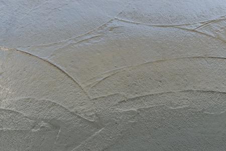 concrete surface finishing: Close-up fresh concrete on site construction Stock Photo