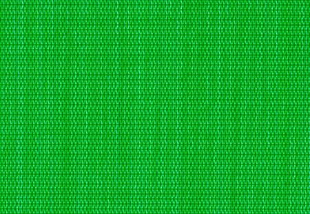 criss: close up green background of criss cross fabric texture detail