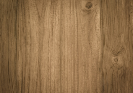 wooden texture: brown color nature  pattern detail of teak wood decorative furniture surface Stock Photo