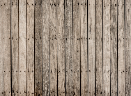 close up decorative of  old wooden  bridge floor photo