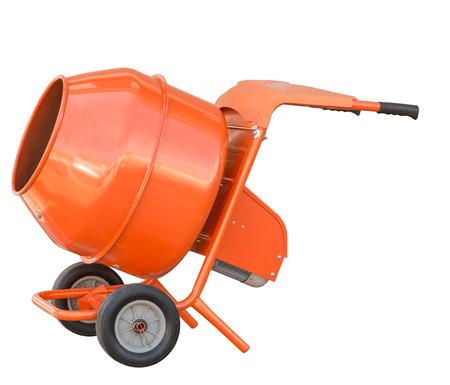 Orange Cement Mixer Small Orange Concrete Mixer