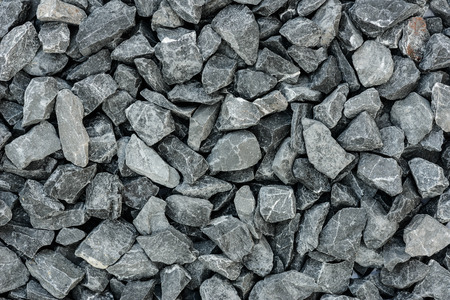 concrete structure: close up grey granite gravel background for mix concrete in construction industrial