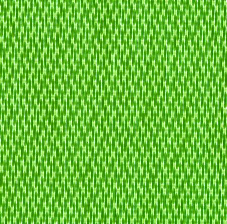 criss cross: close up green background curtain of criss cross fabric texture detail Stock Photo