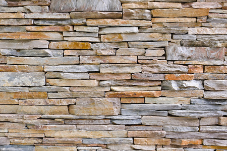 modern pattern of stone wall decorative surfaces Imagens - 41935837