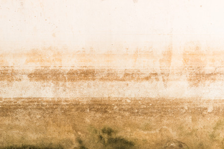 Abstract Background Texture of water level stain pattern after flood on wall house at Thailand stain pattern after flood on wall house at Thailand