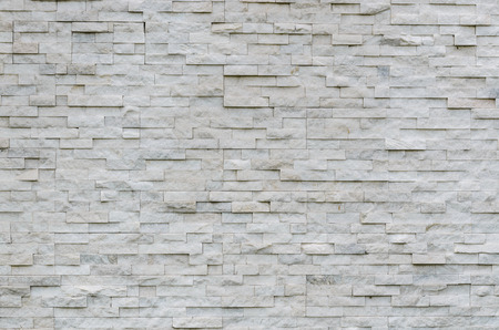 interior walls: modern pattern of real stone wall decorative surface Stock Photo