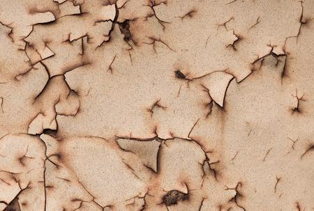 abstrakte muster: Nahaufnahme Hintergrund und Textur der Grunge-Hintergrund Eisen rostig k�nstlerische Wand abbl�tternde Farbe