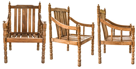 Old And Vintage Style Wooden Armchair Made From Siamese Rosewood Stock Photo Picture Royalty Free Image 45158910