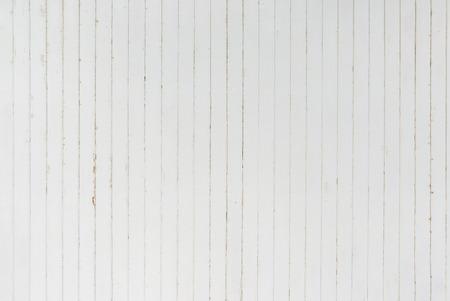 Sfondo e la trama di decorazione dettaglio vecchia striscia di legno bianco sul muro di superficie Archivio Fotografico - 54242390