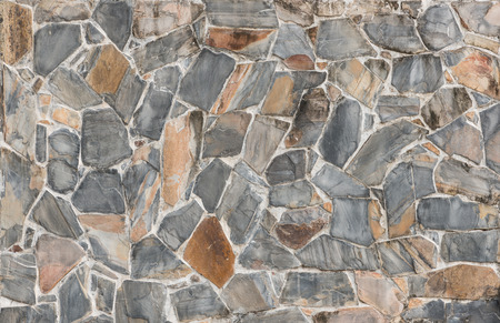 architectural firm: background and texture of decorative Slate Stone wall pattern Stock Photo