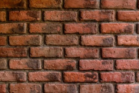 bulwark: background and texture of decorative red brick wall pattern