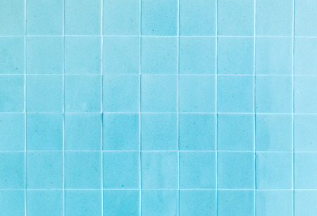 close up background and texture of stretch marks cracked on blue glazed tile