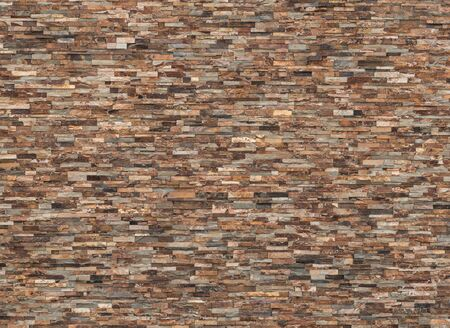 background and texture of vintage real slate stone wall