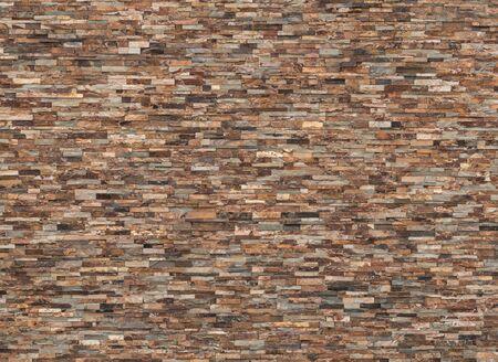 Hintergrund und Textur der Vintage-Echtschiefersteinmauer