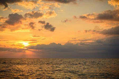 Landschap vanaf Phuket View Point op Nai Yang Beach, gelegen in de provincie Phuket, Thailand.