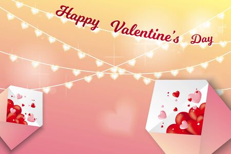 valentine's day on my heart sale backgound