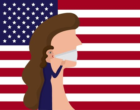 The rights and freedom of women. of America