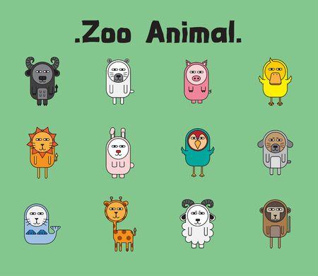 zoo animal is alien pet icon