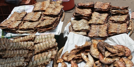 Dried fish. Stock Photo - 14301015