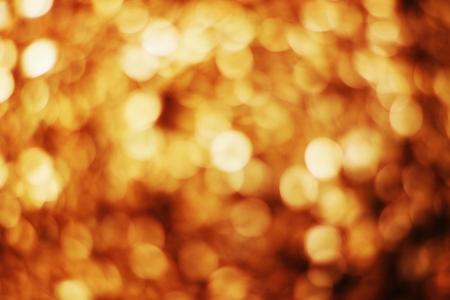 glistening: Golden bokeh