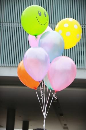 balloons Smile Stock Photo