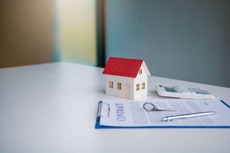 Hausvertragskonzept.
