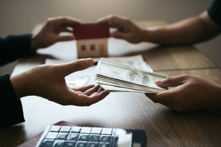 Home sales brokers and real estate investors are exchanging with investors being filing cash at the agents hand.