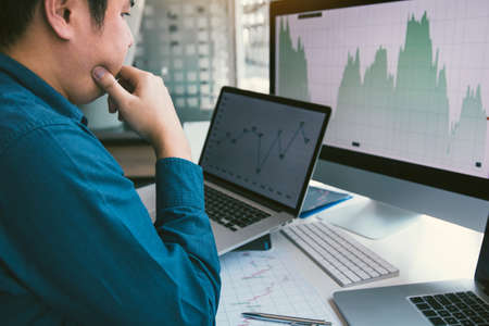 Investors are stressed about the graph analysis of the returns of the stocks to be invested.