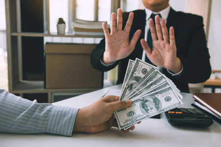 Entrepreneurs are denying bribery or corruption from partners.