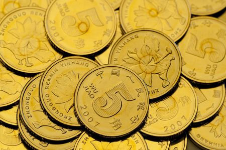 The coin of china photo