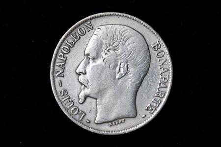 The Argentine coin of Napoleon Stock Photo - 6180257