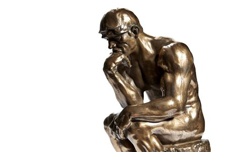 Rodin's The Thinker - Bronze Statue