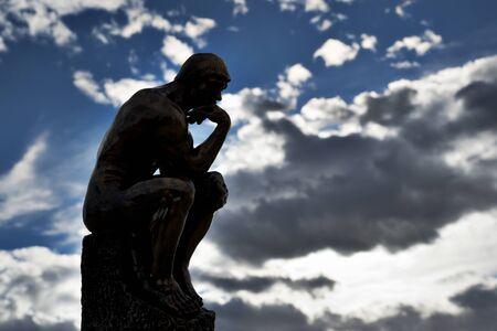 Rodin's The Thinker - Bronze Statue