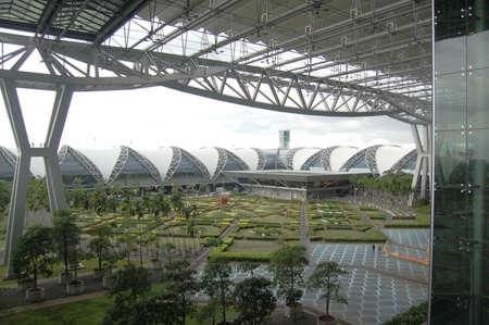 Park in Suvarnabhumi Airport Stock Photo - 15346265