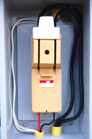 circuit breaker with connection in the protection box
