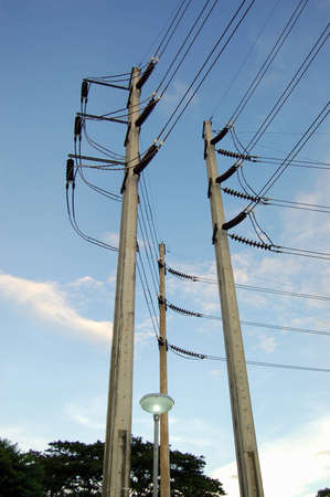 The 3 phrases electric pole