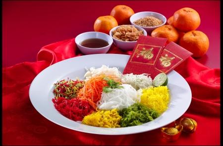 chinese new year salad Stock Photo - 6356569